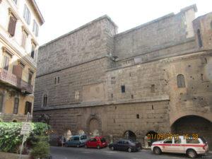 Muro della Suburra (foto P.Petrocelli)