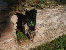 Tombe di via Latina: sepolcro a laterizio