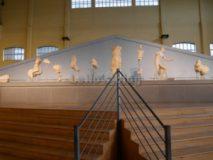 Centrale Montemartini: Fropntespizio del Tempio di Apollo Sosiano