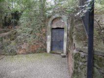 Mausoleo Monte del Grano: ingresso