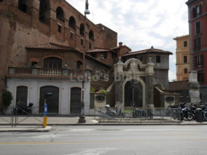 Mura Aureliane a Piazza Fiume