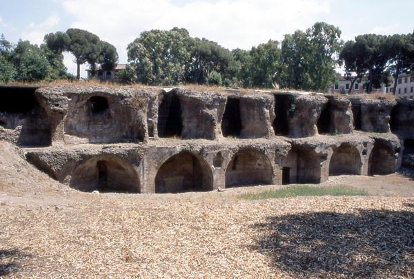 Terme di Traiano a Roma: Cisterna delle sette sale