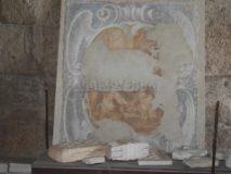 Tempio di Portuno: affresco