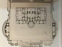 Mappa delle Terme di Caracalla