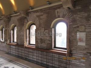 Porta Appia: camera di manovra