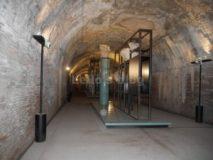 Alle Terme di Caracalla di notte: Antiquarium
