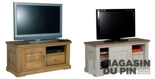meuble tv 110cm sur roulettes loire