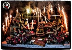 fontaine étincelles - animation mariage macon bourg-en-bresse