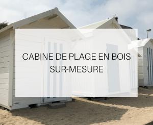 cabine de plage en bois th leman
