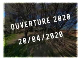 Ouverture 2020