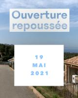 Ouverture repoussée au 19/05/2021
