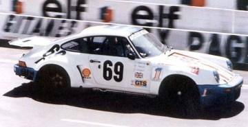 Porsche 911 RSR Harley - Le Mans 1975