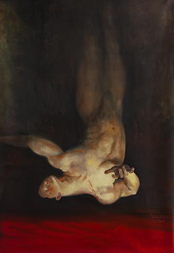 frédérique lemarchand peintre Golgotha