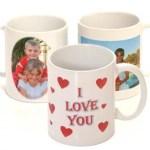 Canecas de Porcelana para Casamento I Love You