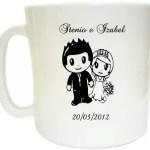 Lembranças de Casamento Canecas de Cafe