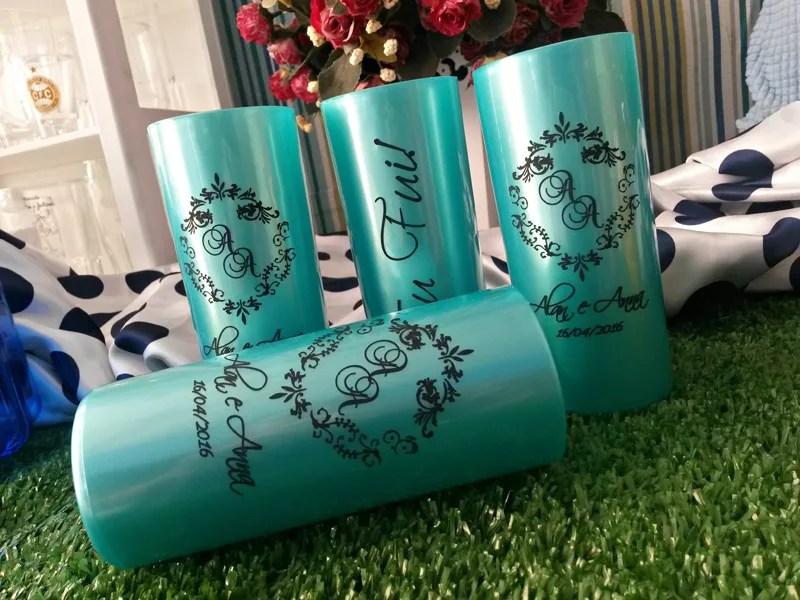 Copos long drink personalizados Alan e Anna