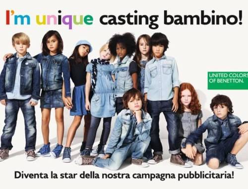 casting benetton roma
