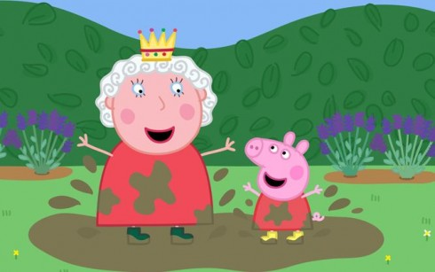 Peppa-Pig-e-la-regina-Elisabetta