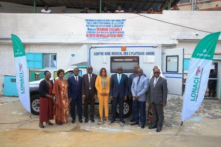 Le centre répare la santé physique, aide à la réadaptation