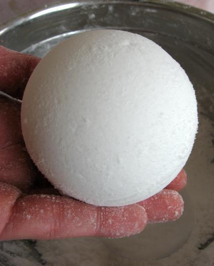 tutorial  boule effervescente pour le bain