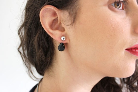 DIY boucles d'oreilles balancier