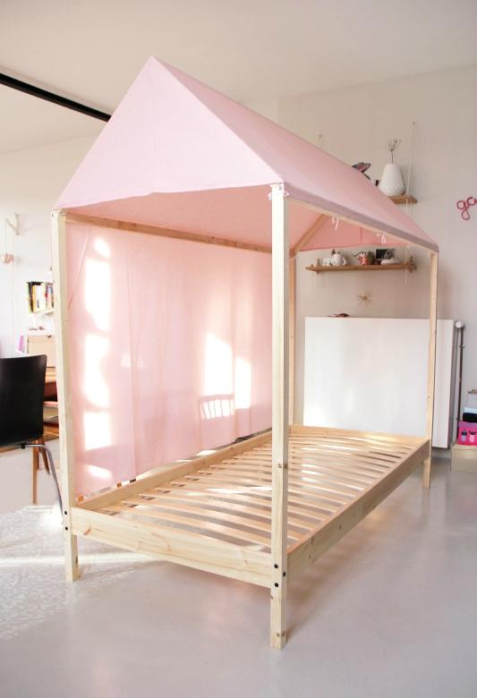 diy lit cabane pour enfant ou pour les grands le meilleur du diy. Black Bedroom Furniture Sets. Home Design Ideas
