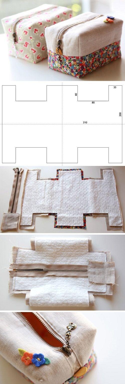 diy trousse facile coudre m me pour d butantes le meilleur du diy. Black Bedroom Furniture Sets. Home Design Ideas