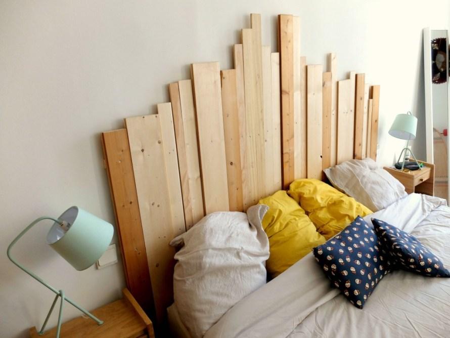 DIY Apprends à réaliser un tête de lit en bois