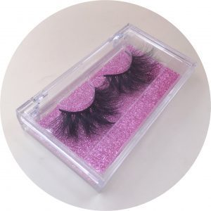 Eyelash clear Case
