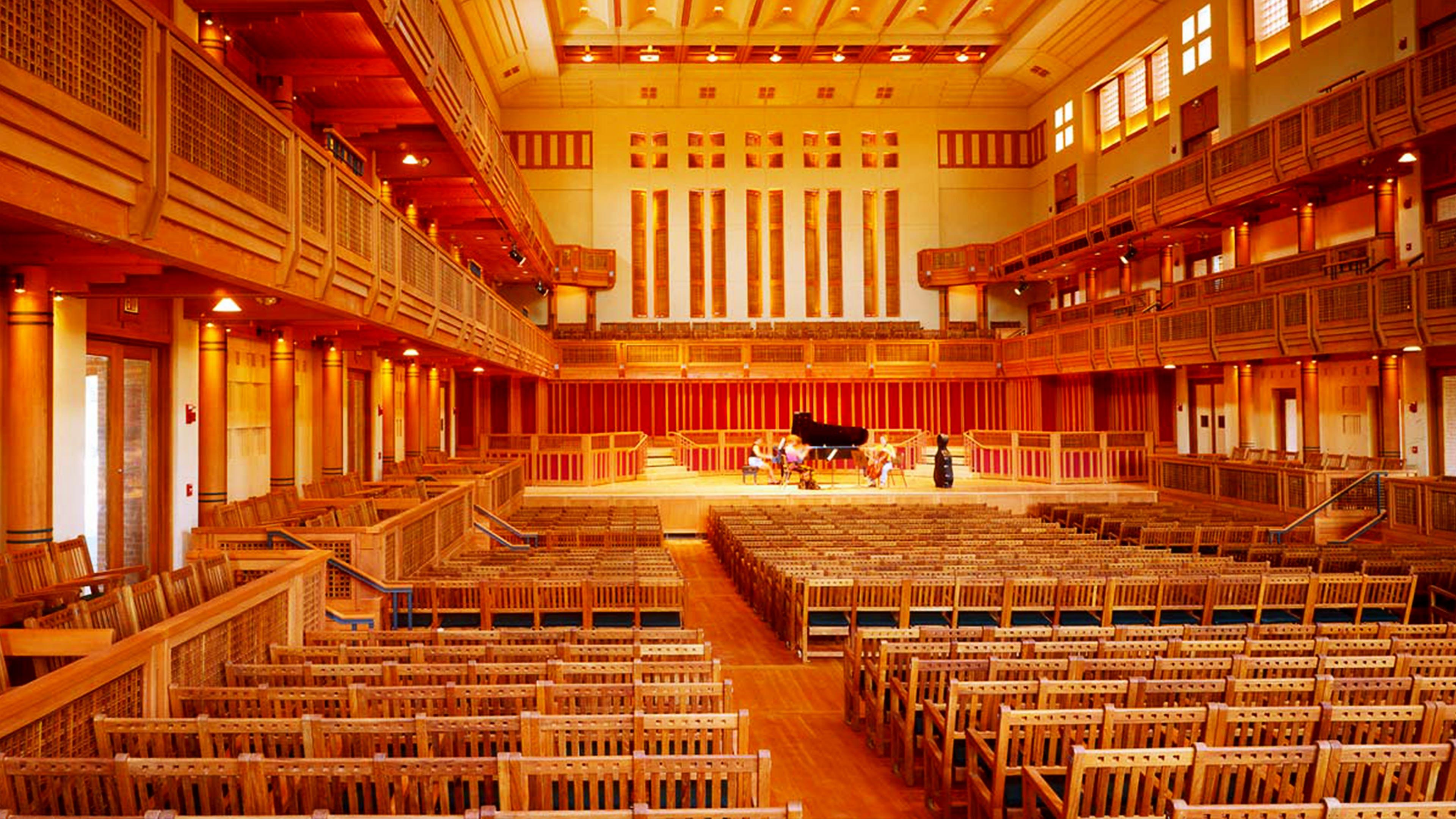 Seiji Ozawa Hall At Tanglewood Lemessurier