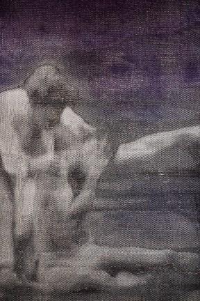 Détail, Rodin & Claudel #5 - La Pieta, 2016, 120 x 366 cm