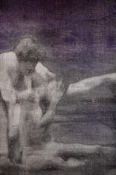 Détail, La Pieta, 2016, 120x366 cm