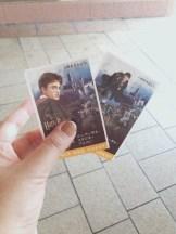 Entrance tickets!