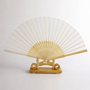 ide kipas dari bambu elegan