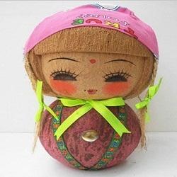 boneka sabut kelapa