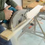 cara membuat meja kayu mudah 2