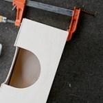 clamp kotak tissue