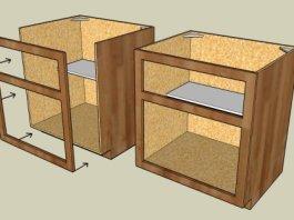 konstruksi lemari