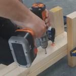 langkah 2 membuat tangga kayu