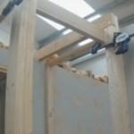langkah 4 membuat tangga kayu