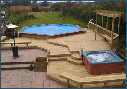 lantai kolam renang dari kayu (3)