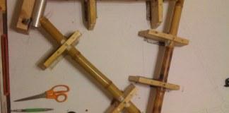 lem kayu dan bambu