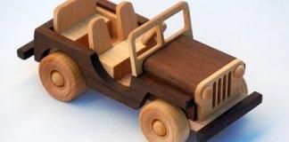 mainan mobil mobilan kayu