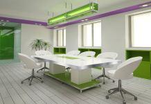 meja meeting kecil