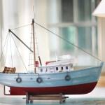 miniature kapal