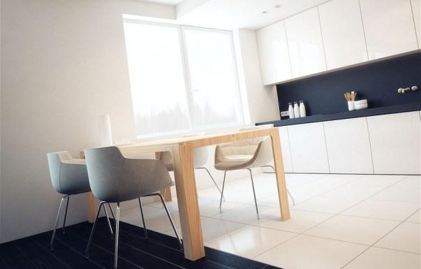 model meja makan minimalis