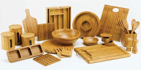 peralatan masak bambu