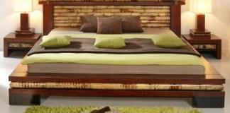 tempat tidur unik dari bambu