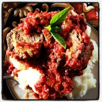 Slow Cooker Braciole & A Trip Down Memory Lane