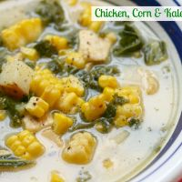 Chicken, Corn & Kale Chowder